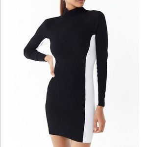 Urban Outfitters Long Sleeved Mini Dress
